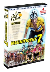 2005 Tour De France DVD - 4 Hour Set
